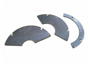 Reduction clamping inserts set